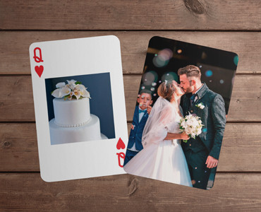 Personalised Playing Cards - Square Image Faces