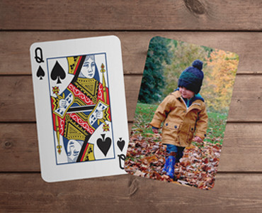 Personalised Playing Cards - Standard Faces